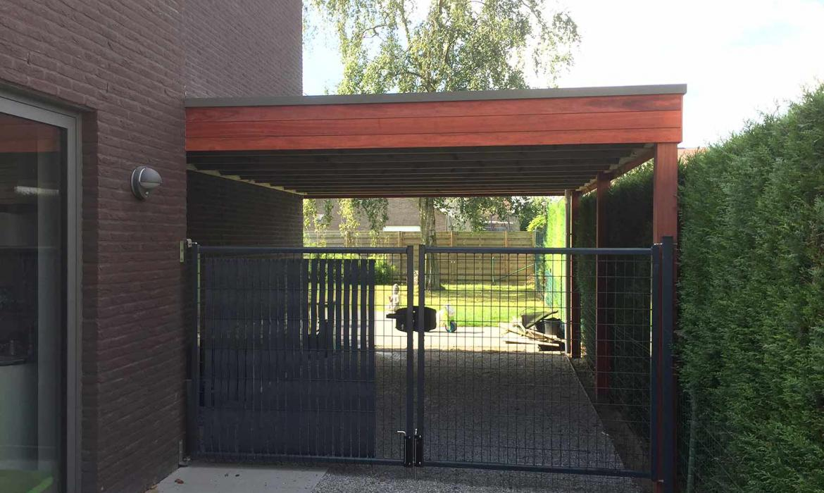 Carport in padoek door Woodproject