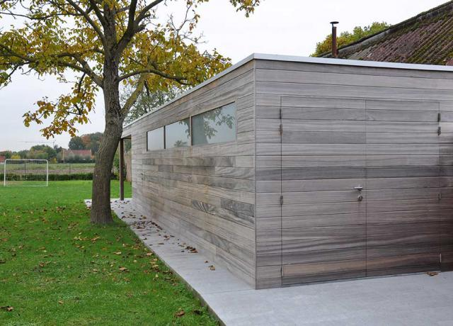 Woodproject: tuinhuis in padoek